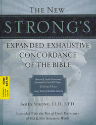 New Strong's Expanded Exhaustive Concordance Of The Bible Supersaver