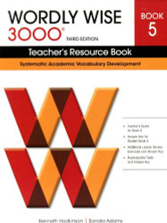 Wordly Wise 3000 Teacher'S Resource Book 5