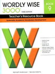 Wordly Wise 3000 Teacher'S Resource Book 9