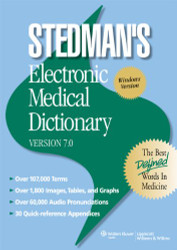 Stedman's Electronic Medical Dictionary