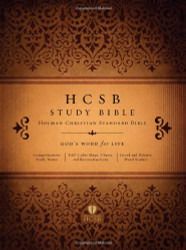 Hcsb Study Bible Jacketed