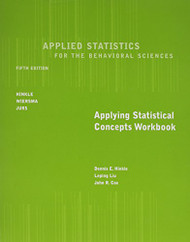 Workbook For Hinkle/Wiersma/Jurs' Applied Statistics For The Behavioral Sciences