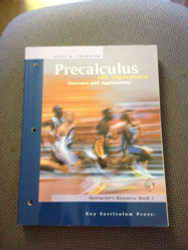 Precalculus with Trigonometry - Instructor's