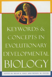 Keywords and Concepts In Evolutionary Developmental Biology