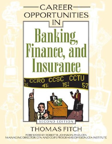Career Opportunities In Banking Finance and Insurance