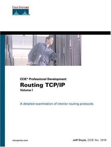Routing Tcp/Ip Volume 1