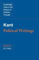 Kant: Political Writings