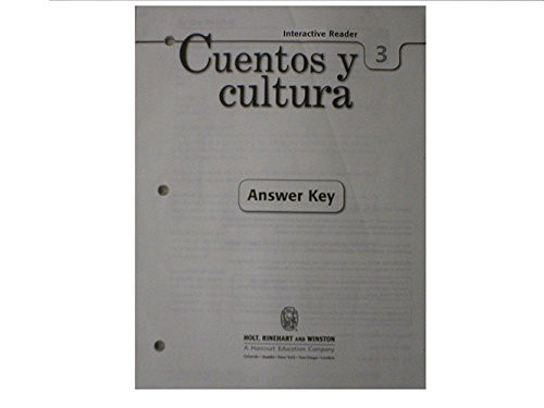 Expresate! Cuentos y cultura Interactive Reader with Answer Key Level 3
