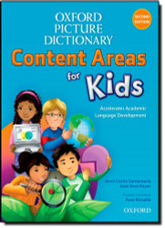Oxford Picture Dictionary Content Area For Kids English Dictionary