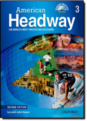 American Headway 3 Student Book and Cd Pack