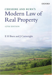 Cheshire and Burn's Modern Law of Real Property