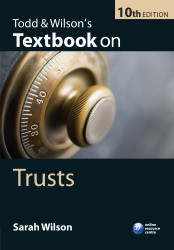 Todd and Wilson's Textbook on Trusts