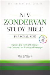 Niv Zondervan Study Bible Personal Size