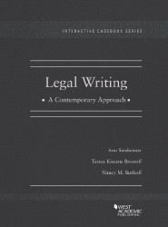 Legal Writing A Contemporary Approach