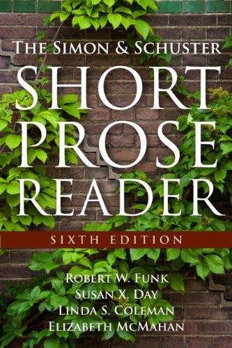 Simon and Schuster Short Prose Reader