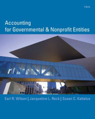 Accounting For Governmental And Nonprofit Entities