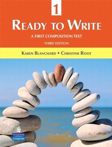 Ready to Write 1