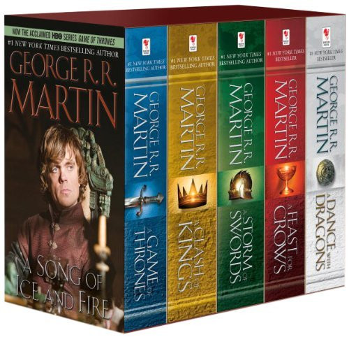 George R R Martin's A Game of Thrones 5-Book Boxed Set