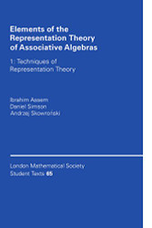 Elements of the Representation Theory of Associative Algebras Volume 1