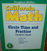 Houghton Mifflin Mathmatics California Level 1