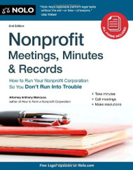 Nonprofit Meetings Minutes And Records