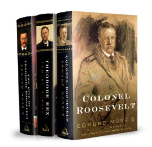 Edmund Morris's Theodore Roosevelt Trilogy Bundle
