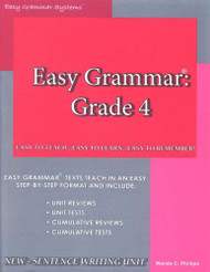 Easy Grammar 4 Teacher Edition
