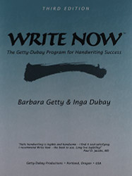 Book Write Now By B Getty & I Dubay