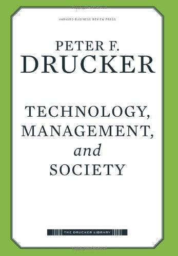 Technology Management and Society
