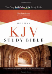 Kjv Study Bible Saddle Brown Leathertouch