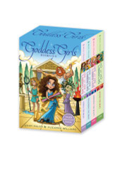 Goddess Girls Books #1-4