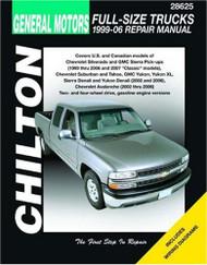 Gm Full-Size Trucks 1999-06 Repair Manual