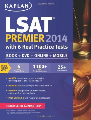 Kaplan LSAT Premier with 6 Practice Tests