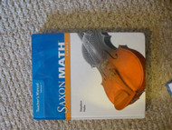 Saxon Math Course 3 Teacher's Manual Volume 1