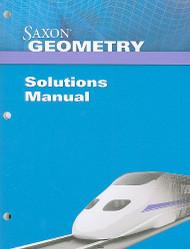 Saxon Geometry Solutions Manual