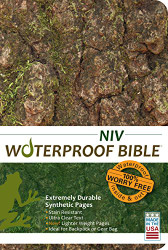 Waterproof Bible Niv