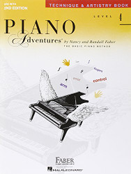 Technique And Artistry Level 4 Faber Piano Adventures