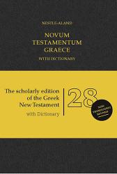Novum Testamentum Graece with Revised Concise Greek-English Dictionary