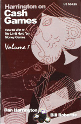 Harrington On Cash Games Volume 1
