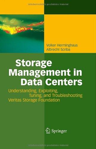 Storage Management In Data Centers