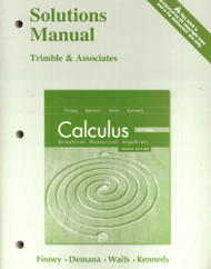 Calculus Graphical Numerical Algebraic Solutions Manual