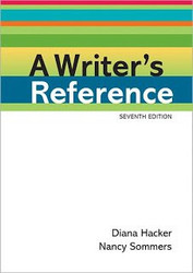 Writer's Reference {A Writer's Reference } Writer's Reference Diana Hacker