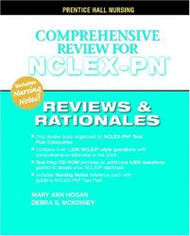 Reviews & Rationales Comprehensive Nclex-Pn Review Unknown Edition By Hogan