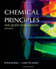 By Atkins P Jones L - Chemical Principles