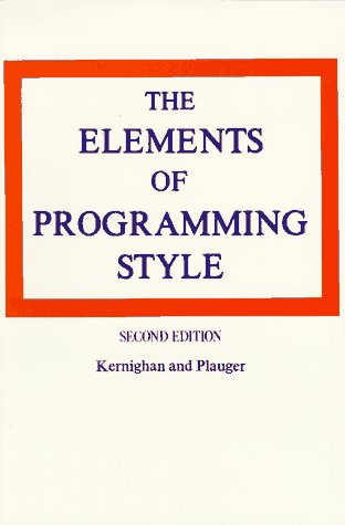 Elements Of Programming Style