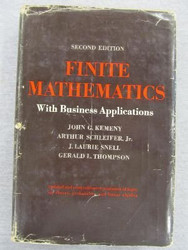 Finite Mathematics with Business Applications