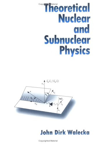 Theoretical Nuclear and Subnuclear Physics