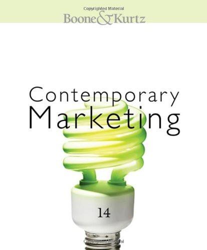 Contemporary Marketing