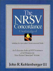 Nrsv Concordance Unabridged