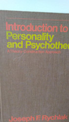 Introduction to Personality and Psychotherapy